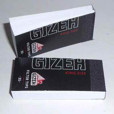 Gizeh Filtertips  King Size