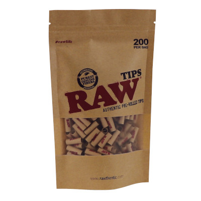 RAW Prerolled Tips Slim