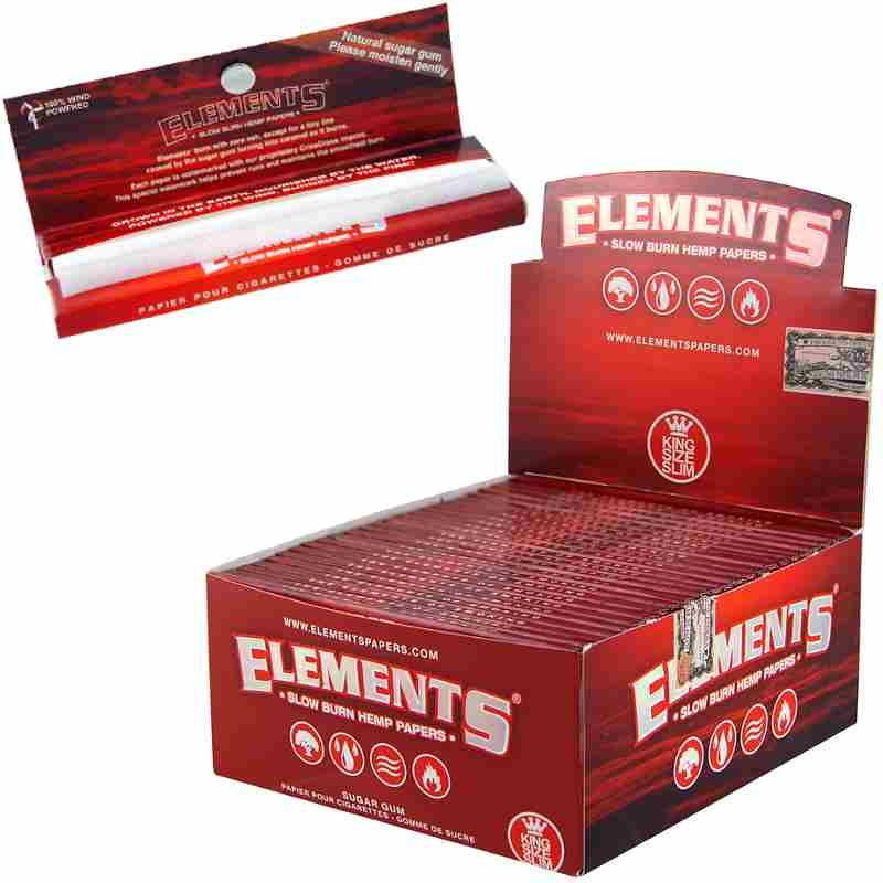Elements Hanf King Size Slim